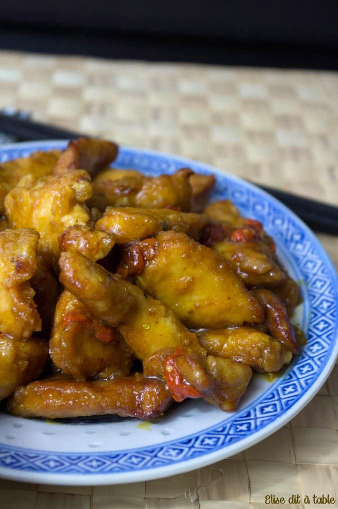 recette poulet aigre doux