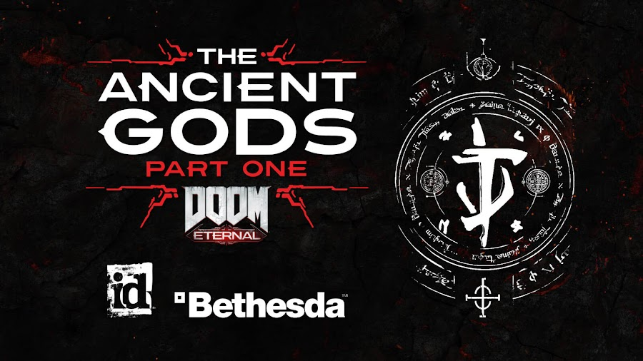 doom eternal ancient gods part 1 no base game need gamescom 2020 first story dlc campaign id software bethesda pc ps4 stadia xb1