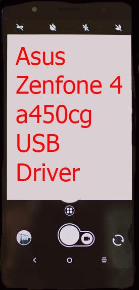 Asus Zenfone 4 a450cg USB Driver Download