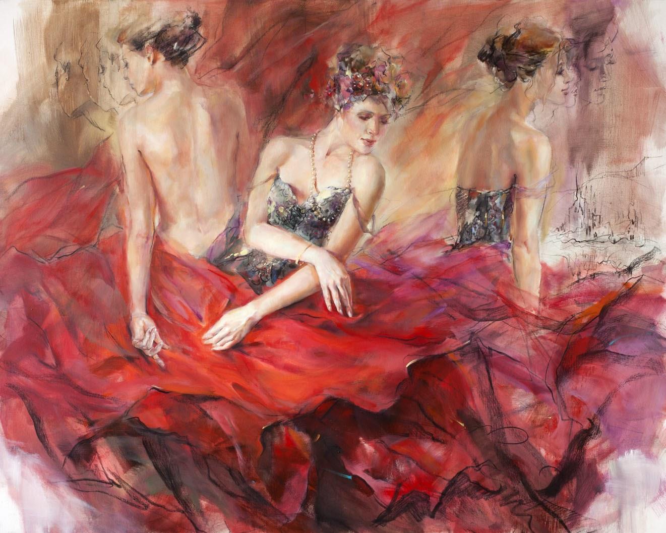 Anna Razumovskaya Crimson Wave