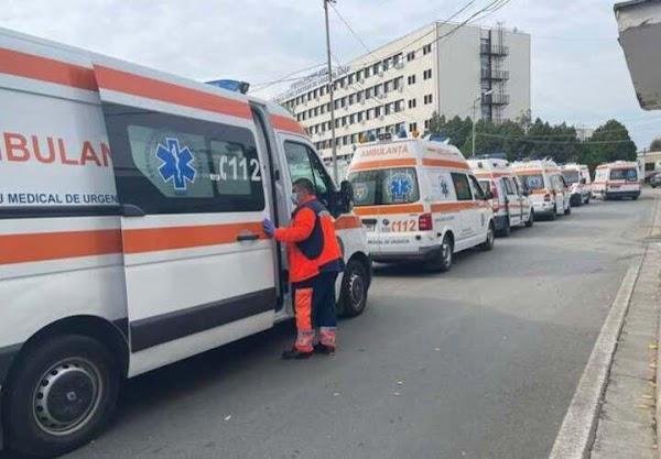 Arad County Emergency Hospital, October 2021