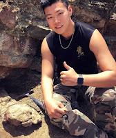 Henry- Liu- BU- Student- Discovers- Dinosaur -in -China