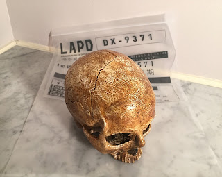 Blade Runner: 2049 LAPD Large Evidence Bag and Rachael's Skull Reproduction