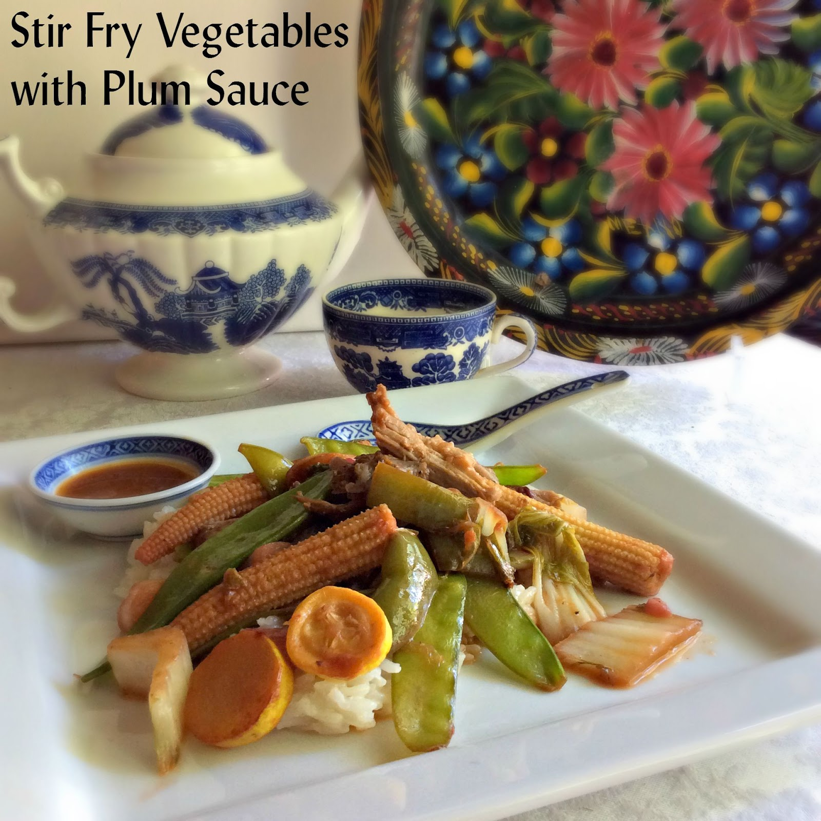 Asian style plum sauce