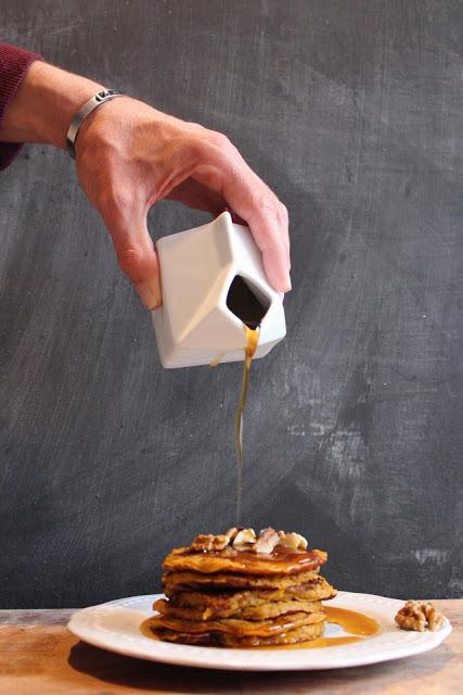 Pancakes alla zucca ricetta