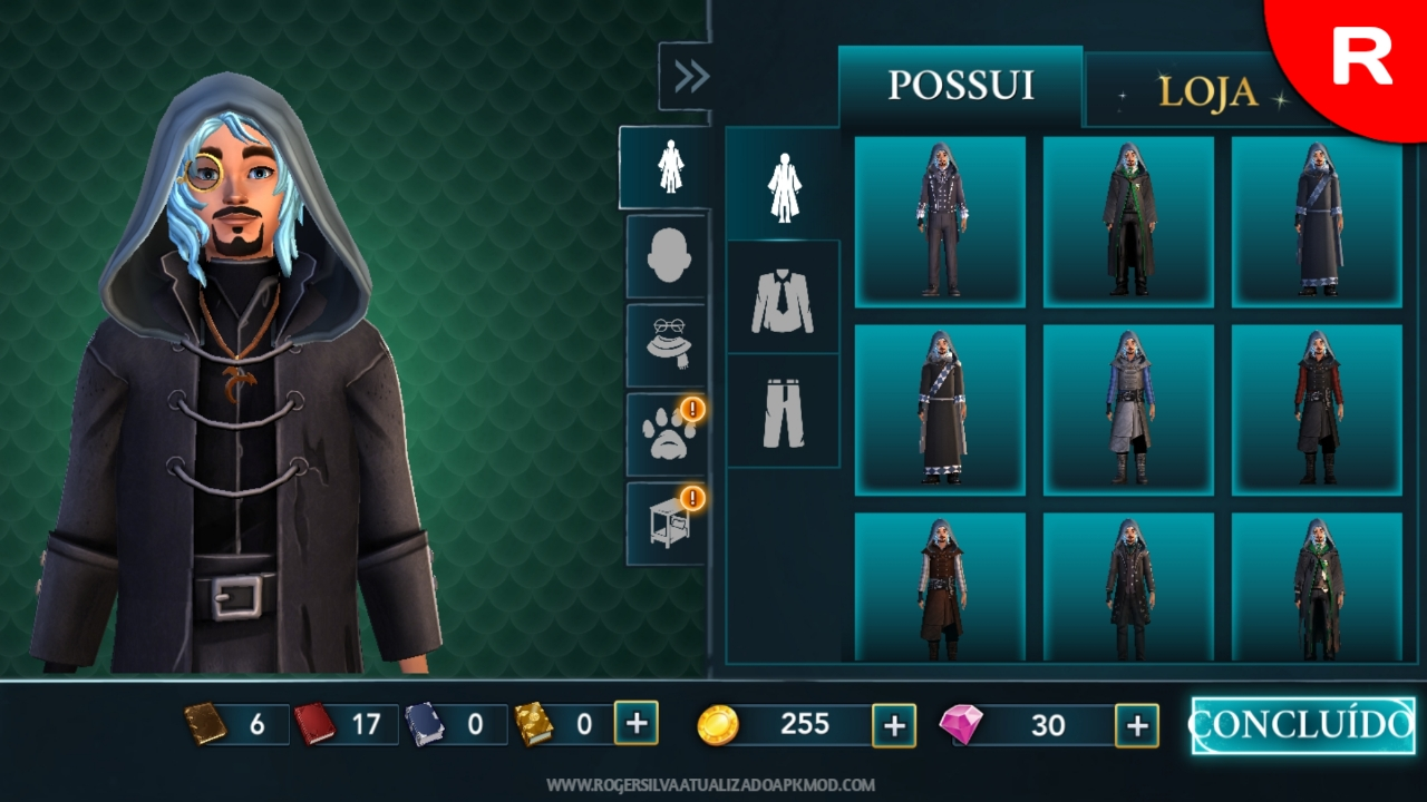 Crie e personalize_Harry Potter Hogwarts Mystery