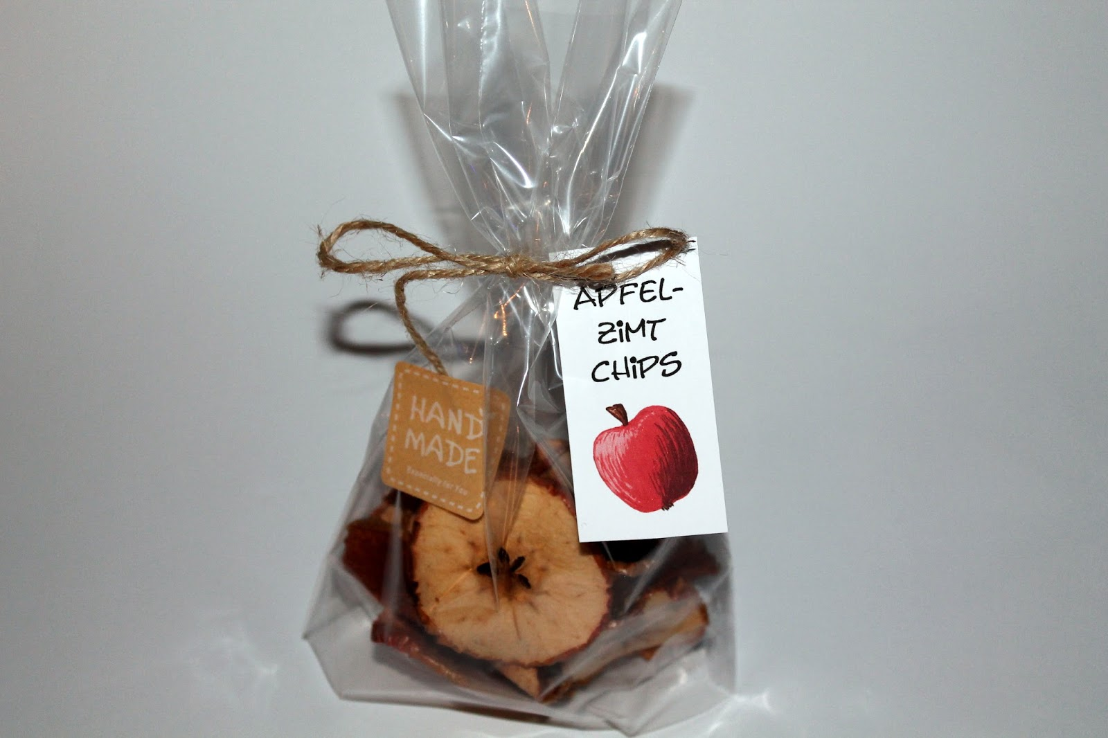 DIY Apfel-Zimt-Chips - DIYCarinchen