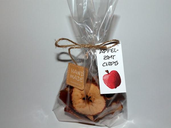 DIY Apfel-Zimt-Chips