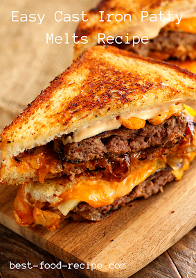 Easy Cast Iron Patty Melts Recipe