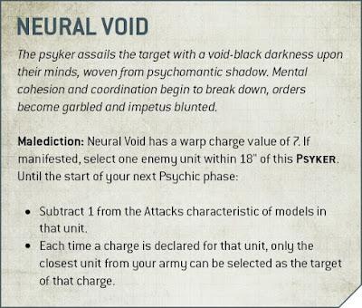 poderes psíquicos Códex: Deathwatch