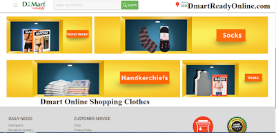 d'mart online shopping clothes