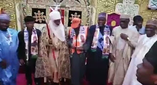 Ganduje Reunite With Emir Sanusi As Osinbajo Commission Projects In Kano (Photo)