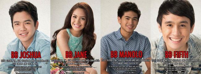 Fith, Joshua, Jane and Manolo are Nominated as of July 29th on PBB All In