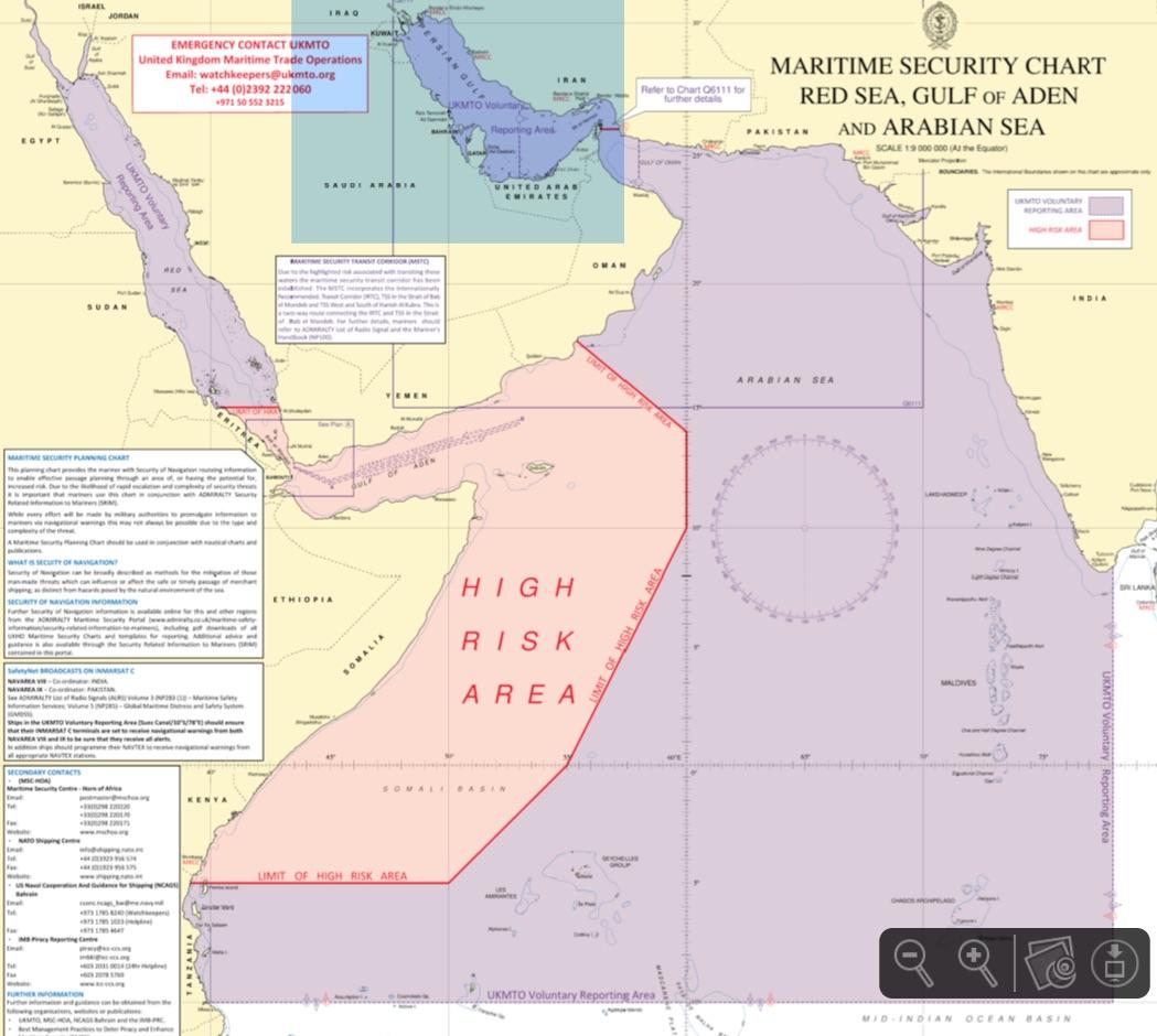 GeoGarage blog: Pirates made ocean vortex 'The Great Whirl