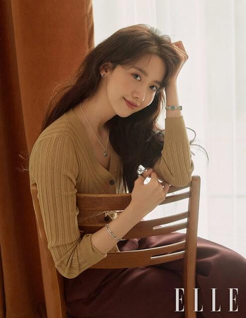 SNSD YoonA ELLE magazine