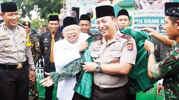 Wapres Maruf Amin Dukung Penunjukan Listyo Sigit sebagai Kapolri