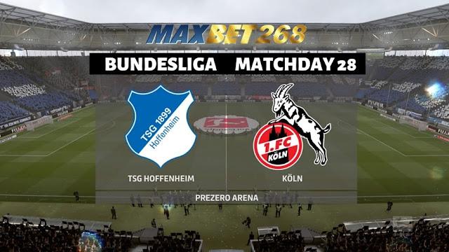 Prediksi TSG 1899 Hoffenheim Vs FC Koln, Kamis 28 Mei 2020 Pukul 01.30 WIB