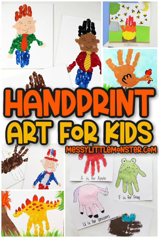 handprint craft ideas for kids
