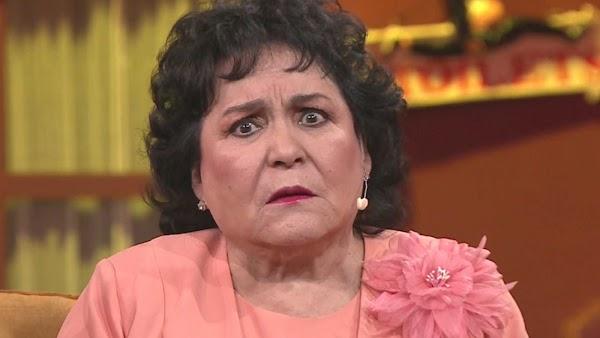 Seguidores de Obrador son pobres, sin estudios y resentidos: Carmen Salinas