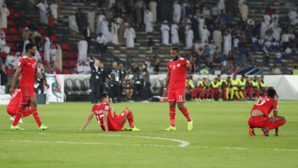 عمان تحيى امالها للصعود بعد فوزها على تركمنستان بثلاثة اهداف مقابل هدف  كأس آسيا 2019