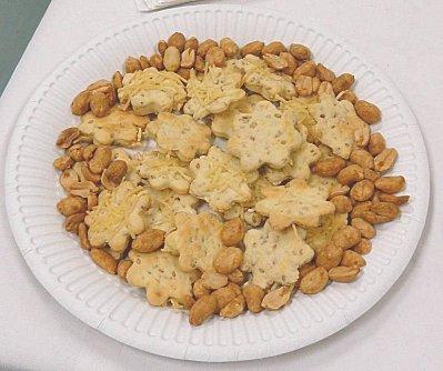 Crackers au sésame et au fromage