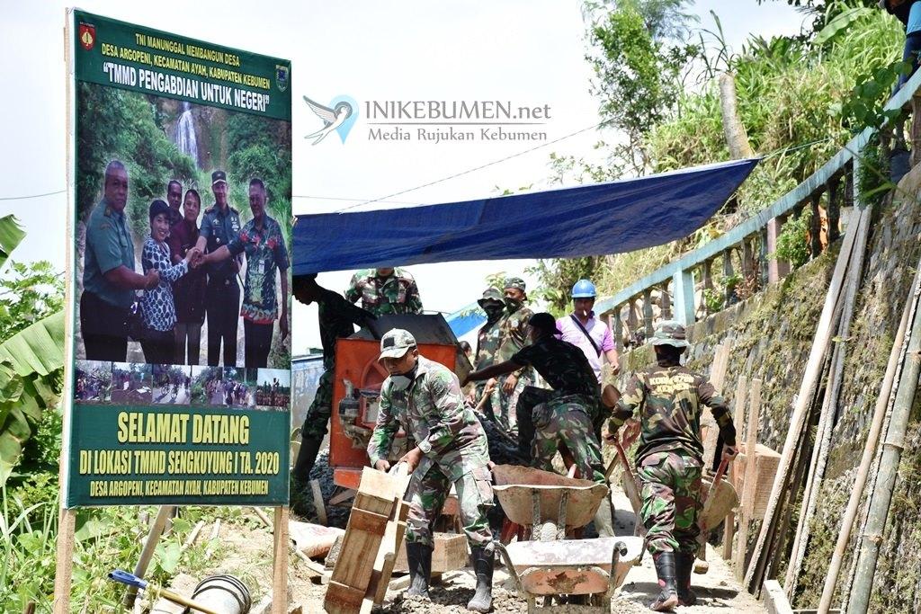 Imbas Wabah Corona, Pemutaran Film di TMMD Argopeni Dibatalkan