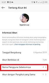 Cara Mengetahui Instagram Yang Ganti Nama