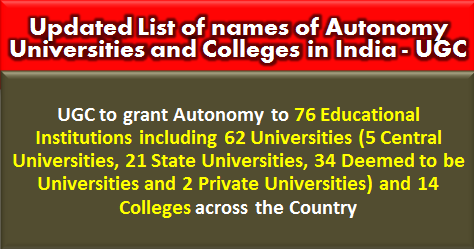 list-of-names-of-autonomy-universities-and-colleges-in-india-ugc