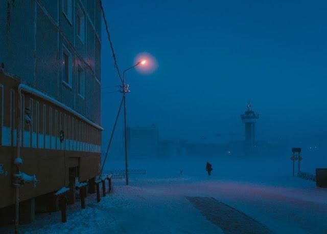 πιο ψυχρό μέρος του κόσμου