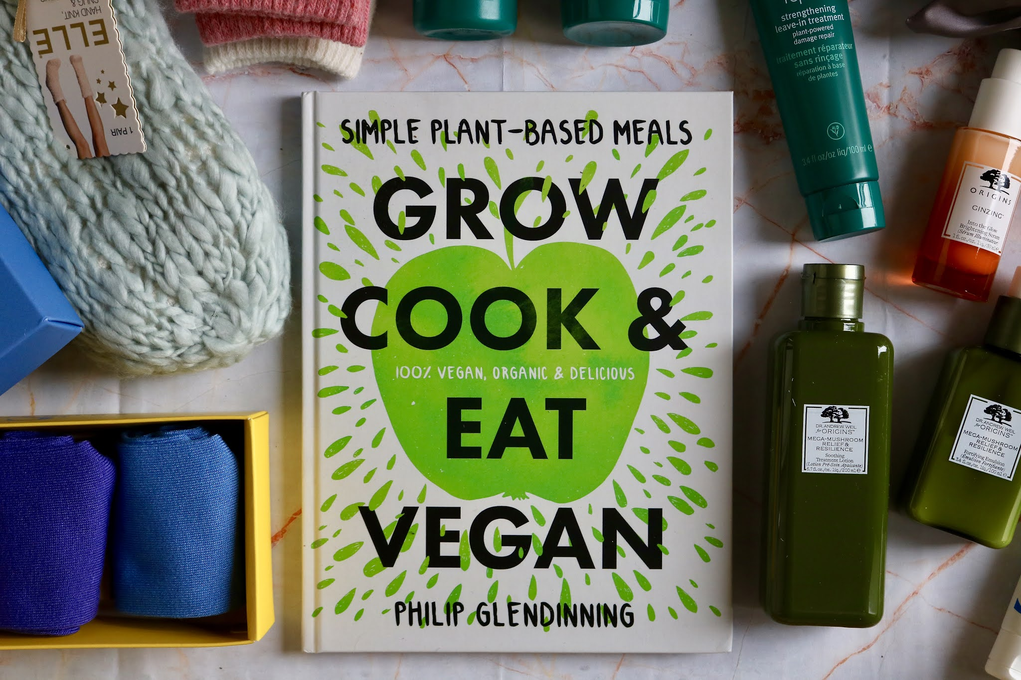 Grow, Cook & Eat Vegan by Philip Glendinning £13.49
