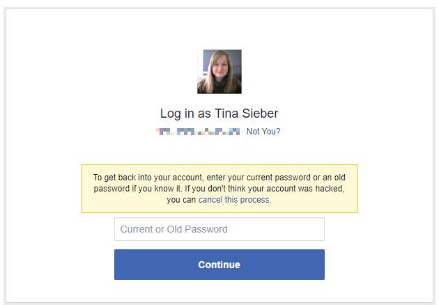 How Do I Get My Facebook Password Back