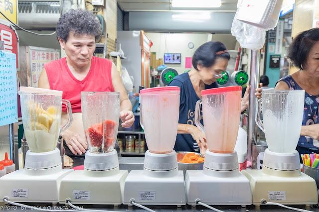 MG 8944 - 美乃屋木瓜豆沙牛乳,忠孝夜市近60年歷史人氣老店,多種果汁、烤吐司也能當宵夜!