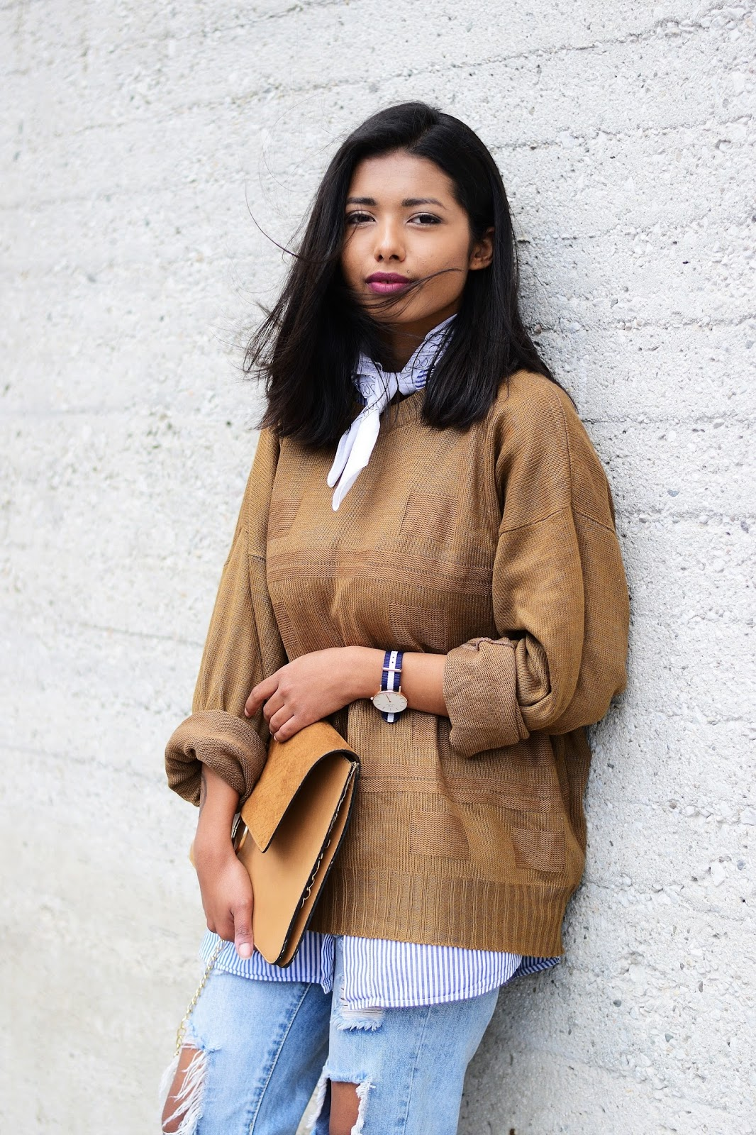 how to layer spring outfit