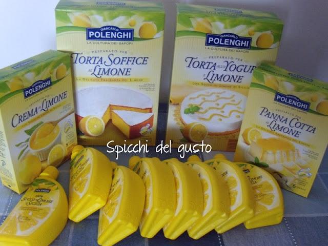 prodotti al limone Polenghi Las