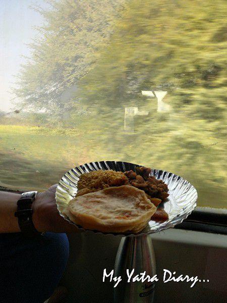 Packing home cooked food - Uttarakhand Indian railways