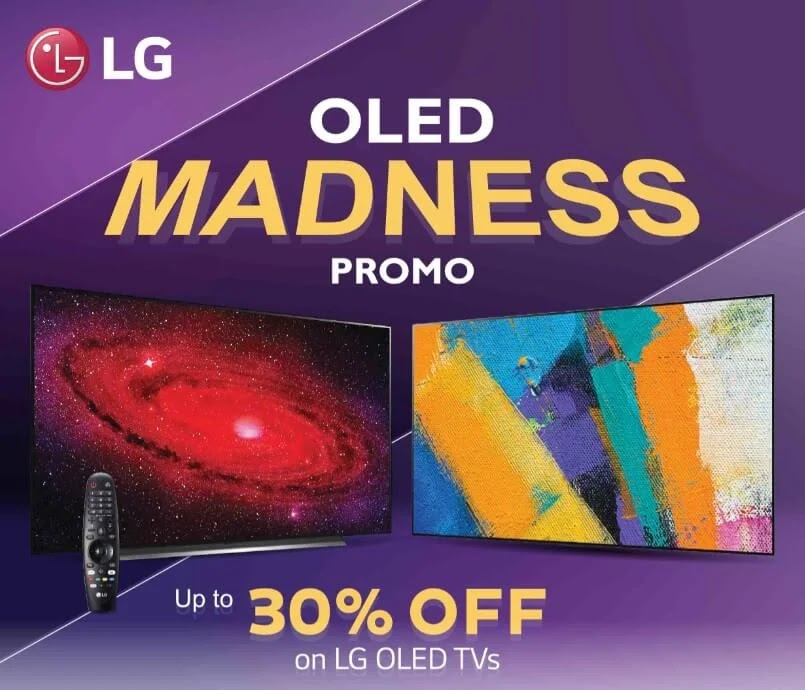 LG OLED Madness Promo Extended  until May 31