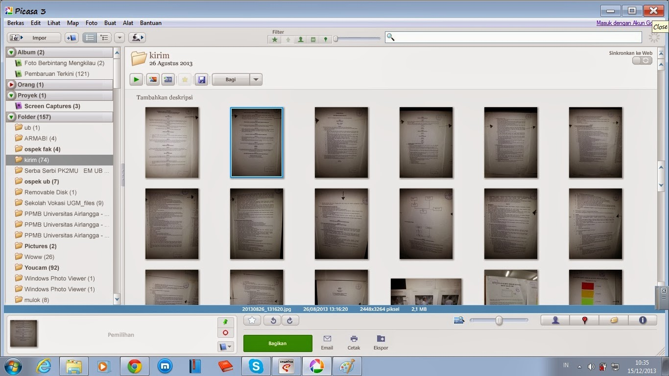 how to get the final picasa version