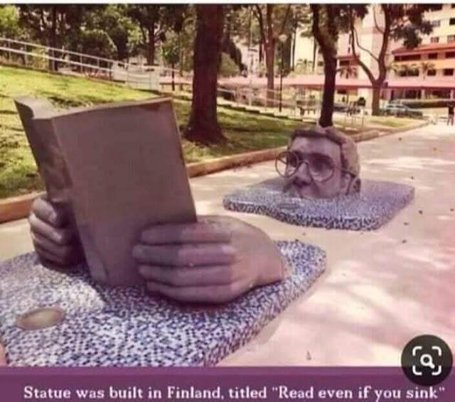 फिनलैंड में बने इस स्टेच्यू के पीछे क्या हैं राज .....??