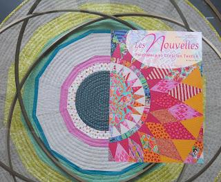 Luna Lovequilts - France Patchwork magazine #133 - Cover