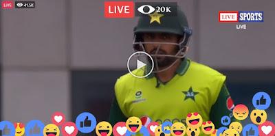 Pakistan Vs England Ist ODI Live Cricket Match 2021