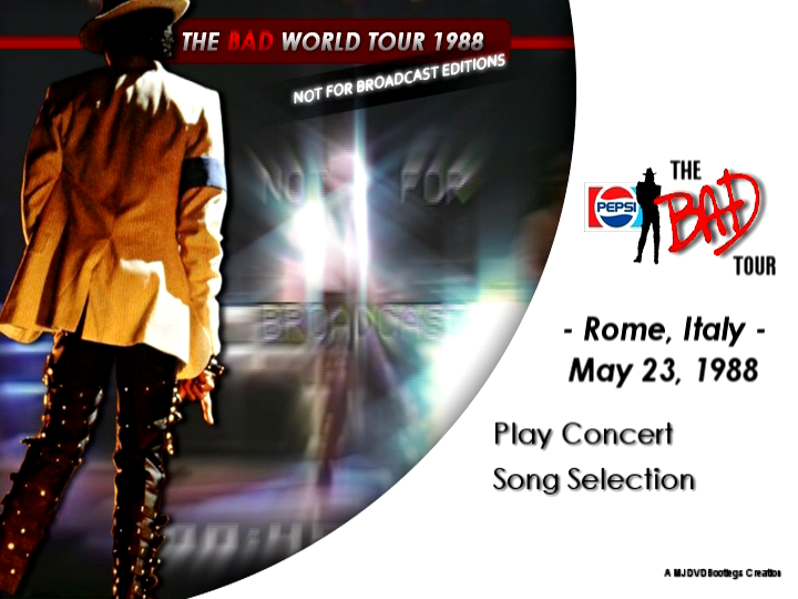 Michael Jackson - Bad Tour May 23, 1988 Rome, Italy {Full ...