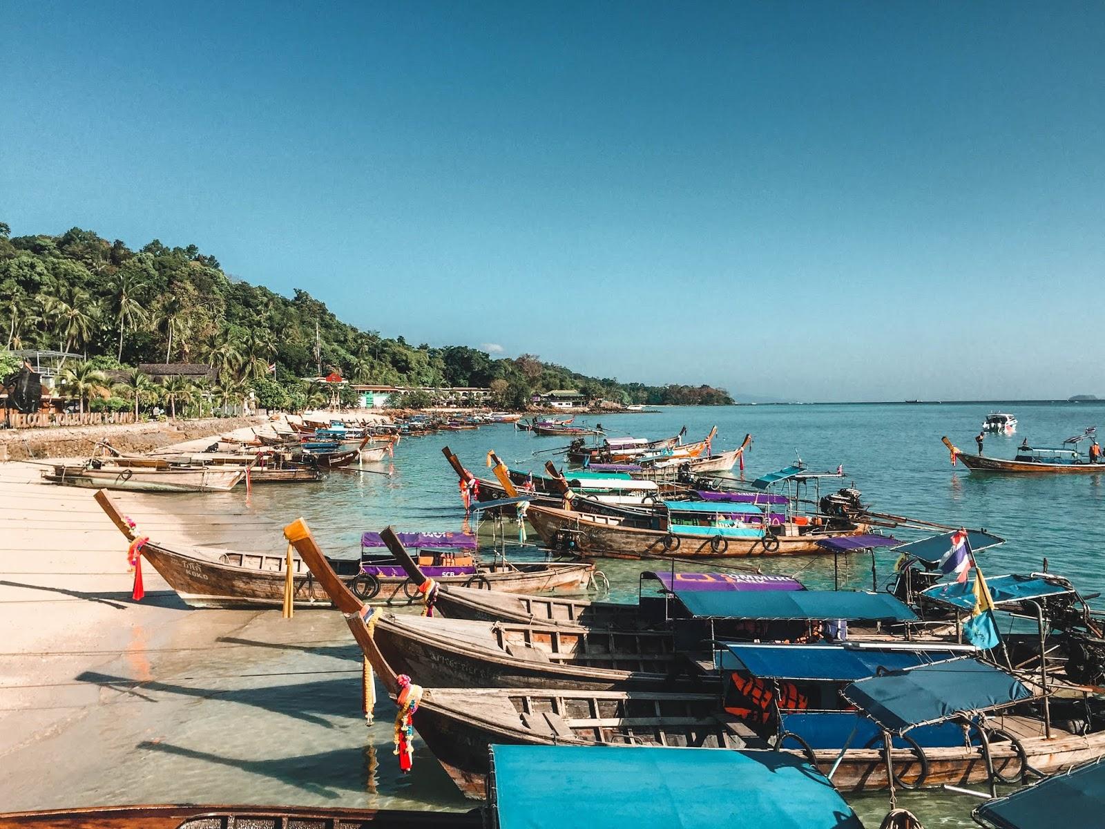 Koh Phi Phi Thailand Beaches
