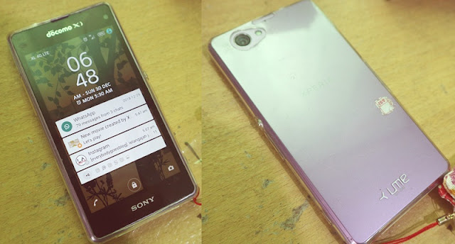 review Sony Xperia Z1 Compact Docomo