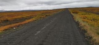 Carretera o pista 846, Cañón Jökulsárgljúfur.