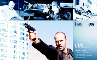 Jason Statham Crank Movie Poster