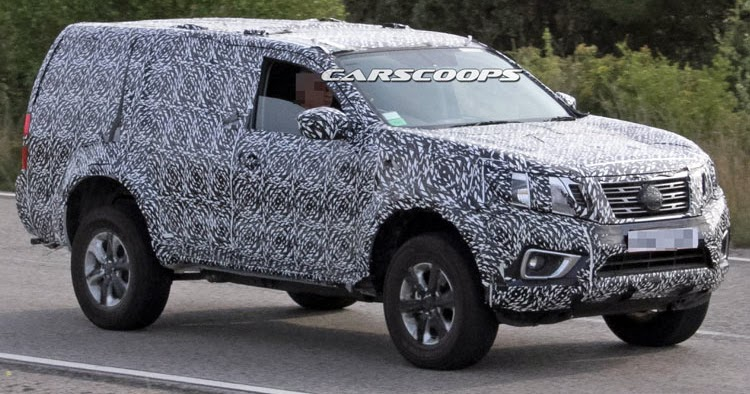 Nissan Spied Testing New 2018 SUV Based On Navara NP300 Truck