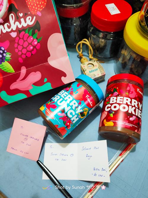 Gift Raya Aidiladha dari Sis Lin