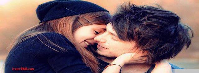 Ảnh bìa lãng mạn cho Facebook - Cover FB romantic timeline, yêu nhau hôn nhau thật đẹp