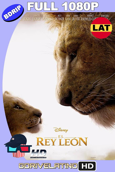El Rey León (2019) BDRip 1080p Latino-Ingles MKV