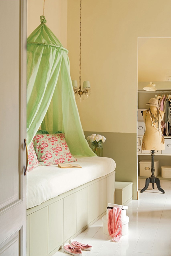 Girly interior design